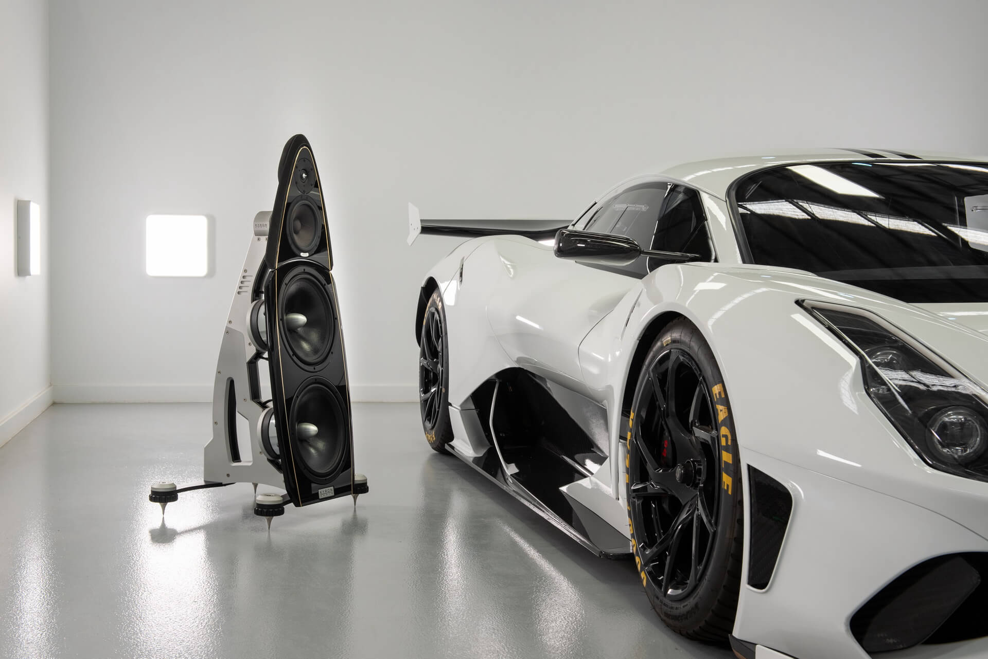 Brabham BT62 sistema audio