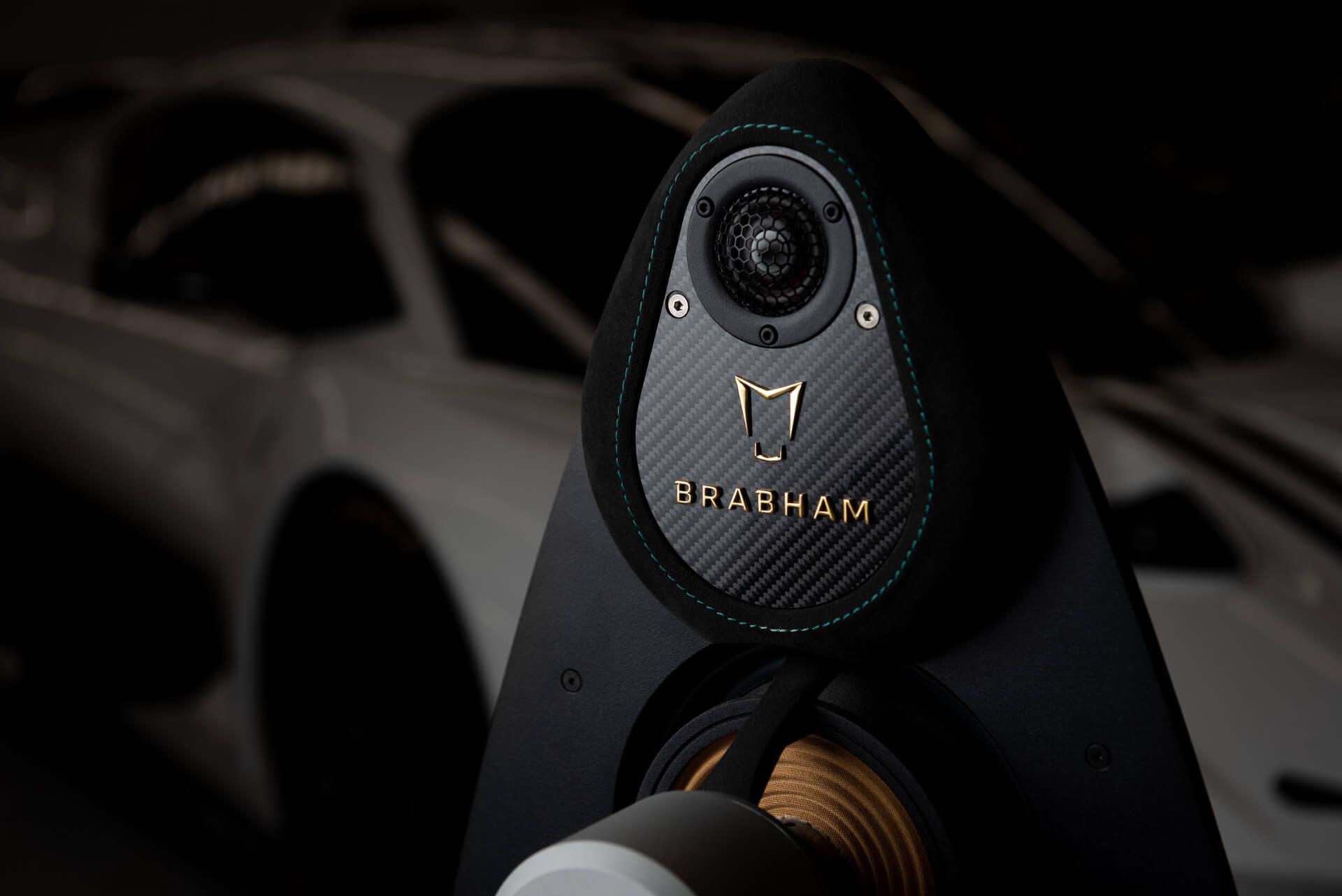 Brabham BT62 sistema audio