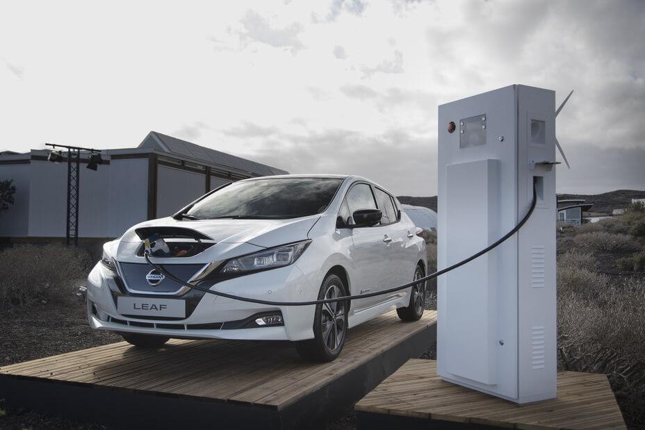 Nissan projeto V2G