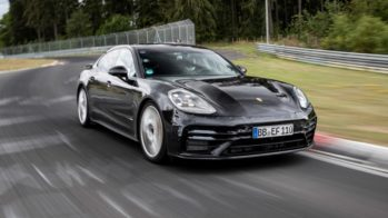 Porsche Panamera recorde