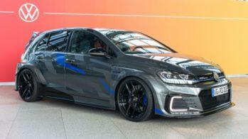 Volkswagen Golf GTE HyRACER Concept