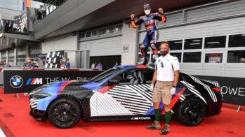 Miguel Oliveira com BMW M4