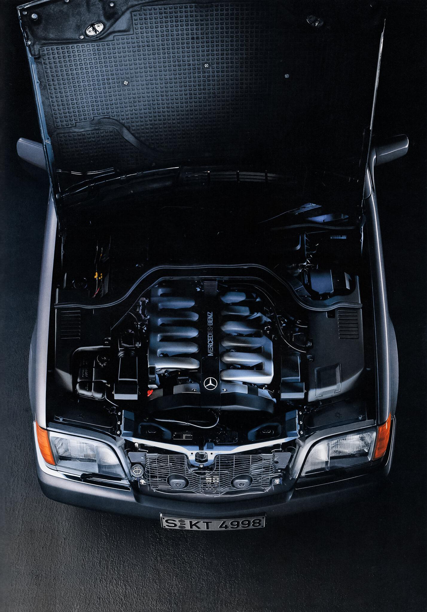 M 120, V12, Mercedes-Benz Classe S W140