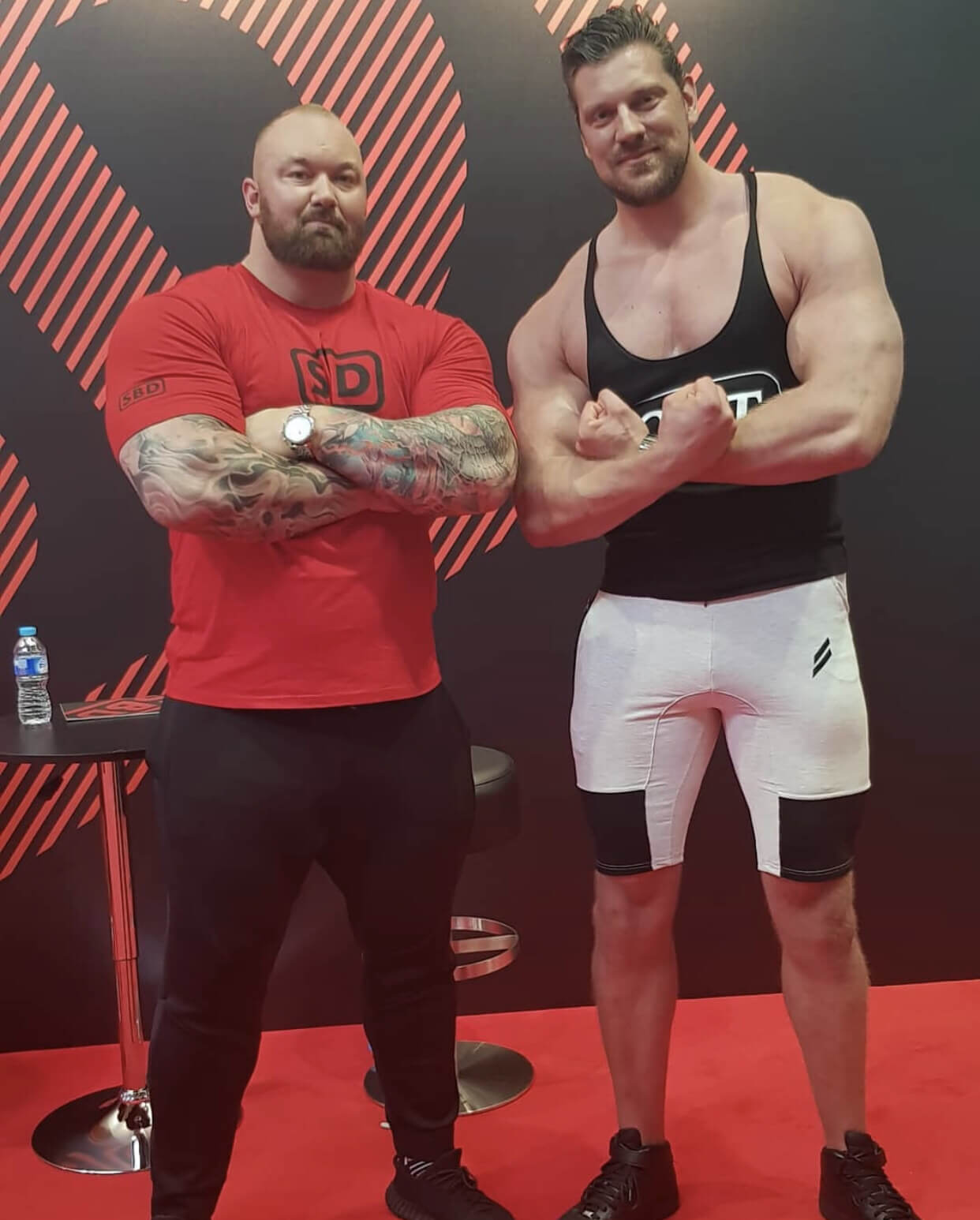 Olivier Richter e Hafþór Júlíus Björnsson
