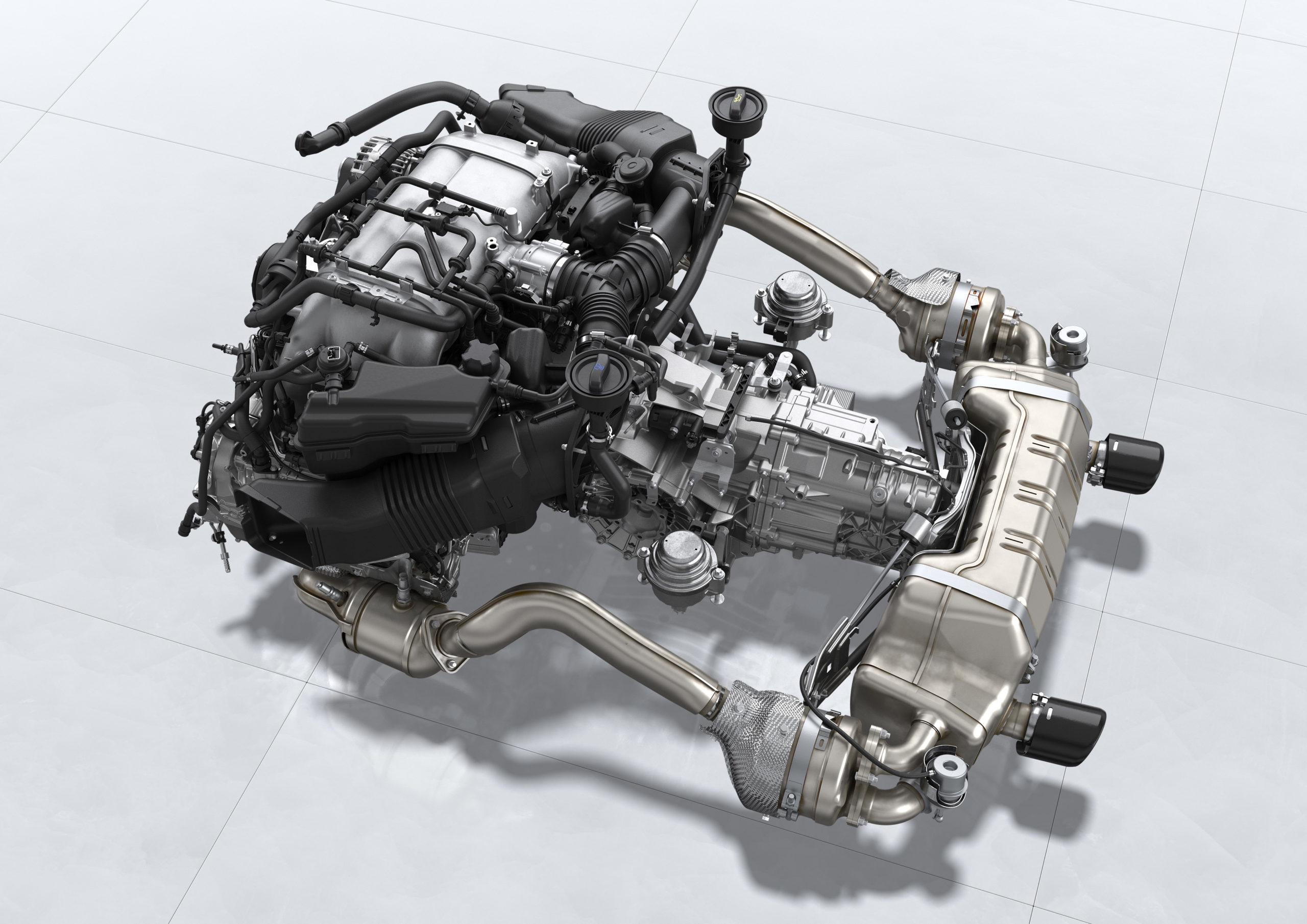 Motor Porsche 718 Cayman GT4 e 718 Spyder