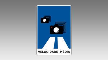 Sinal H42 — aviso da presença de radar de velocidade média