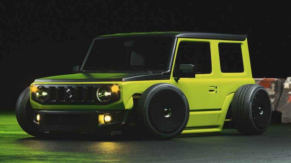 Suzuki Jimny Rat Rod