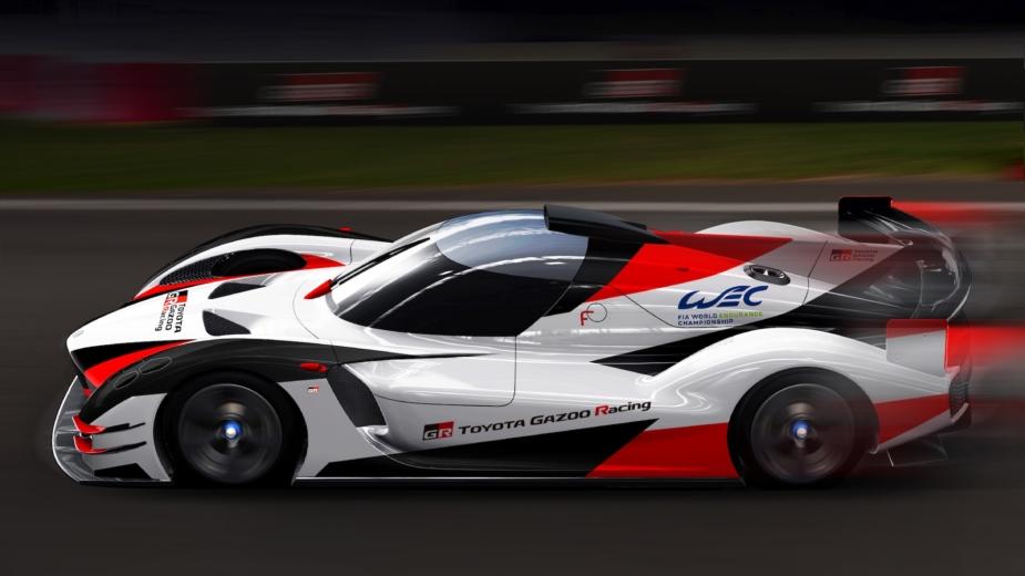 Toyota GR Super Sport rendering