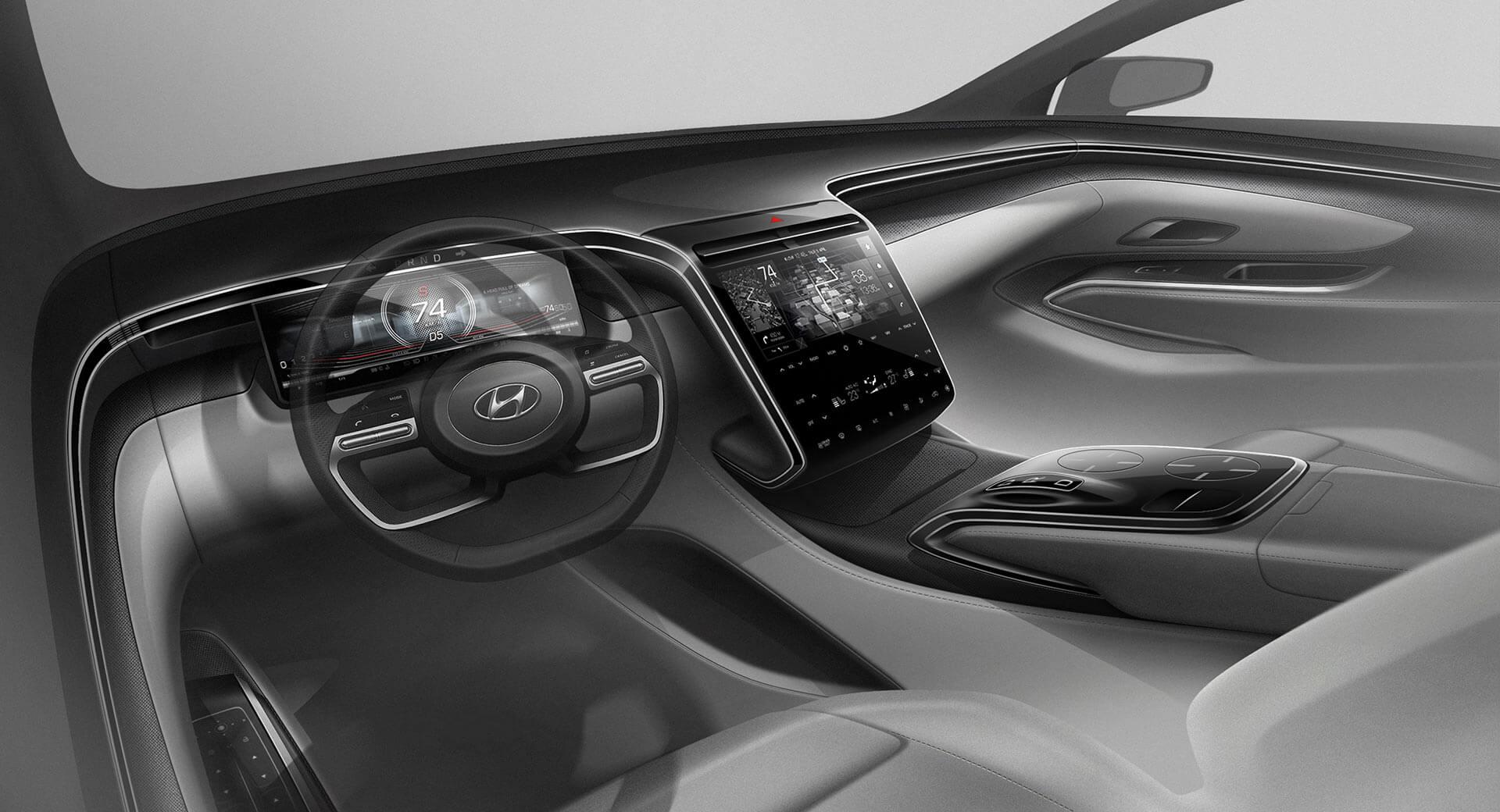Hyundai Tucson 2021 teaser