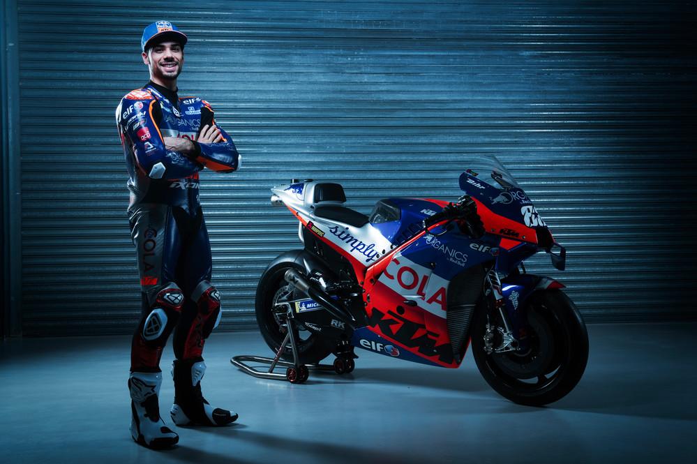 Miguel Oliveira e KTM RC16