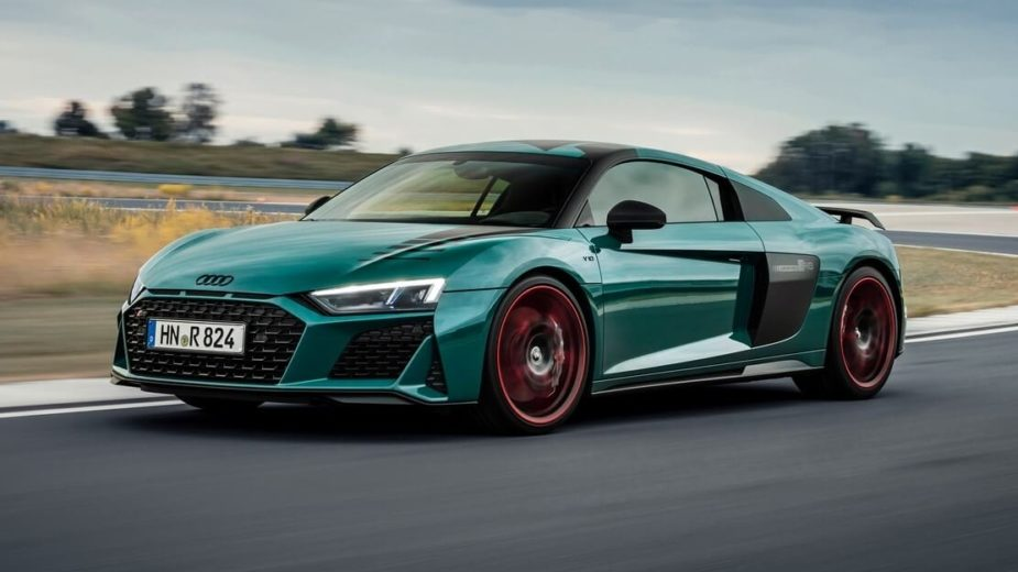 "Audi R8 ""Green Hell"""