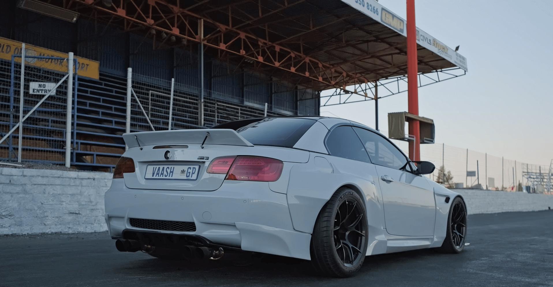 BMW M3 motor Ferrari