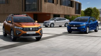 Dacia Logan, Dacia Sandero e Dacia Sandero Stepway