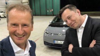 Herbert Diess, Elon Musk