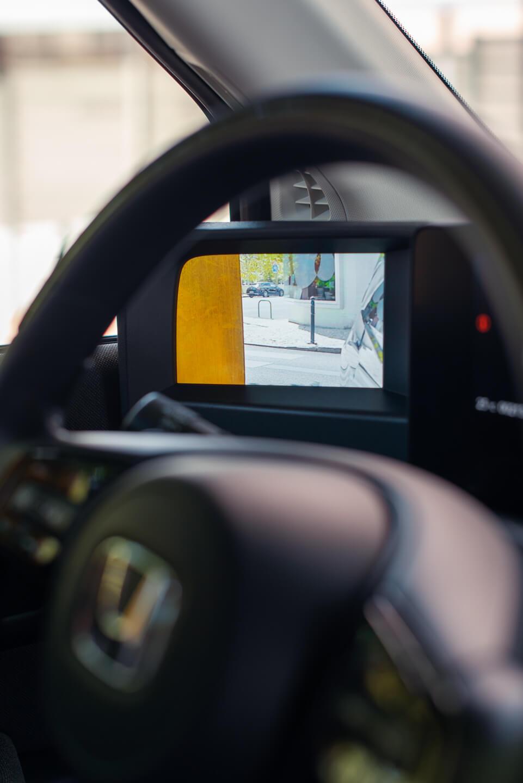ecrã do retrovisor esquerdo
