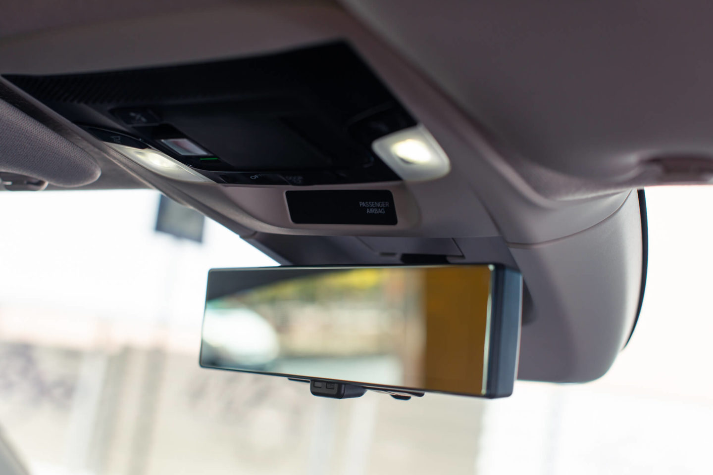 espelho retrovisor central — vista regular