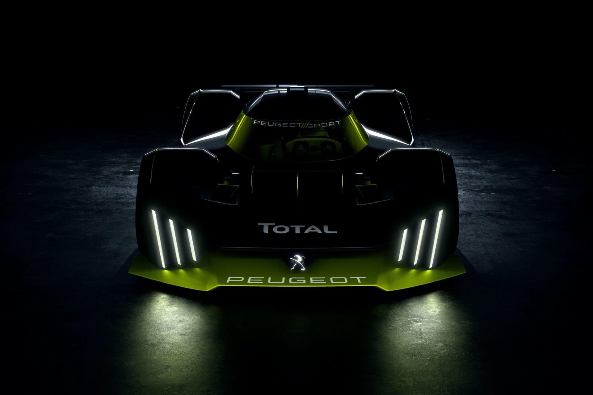 Peugeot Total Le Mans