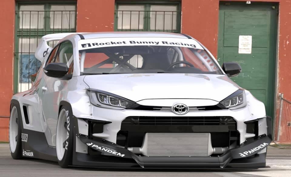 Toyota GR Yaris Pandem