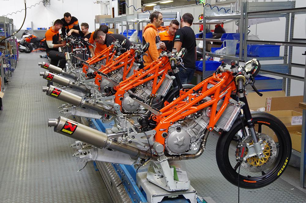 KTM quadros em treliça