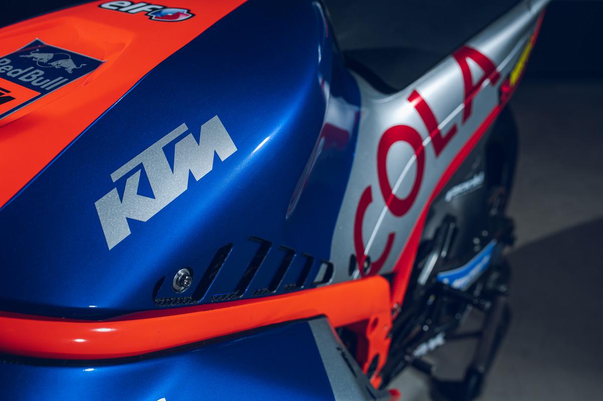 KTM RC16 detalhe