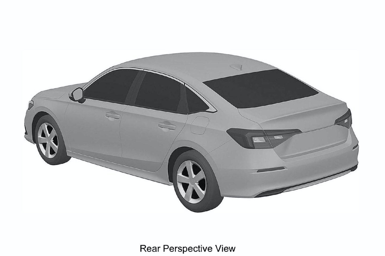 Honda Civic 11 patente
