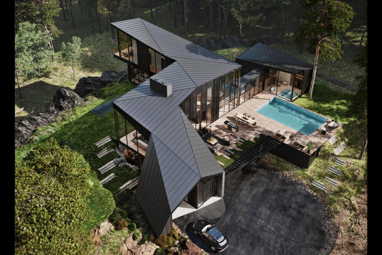 Aston Martin casa Sylvan Rock