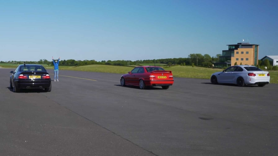 Arranque a Frio. BMW M2 Competition enfrenta M3 E36 e E46. Qual o mais rápido?