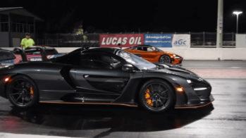 Drag race McLaren