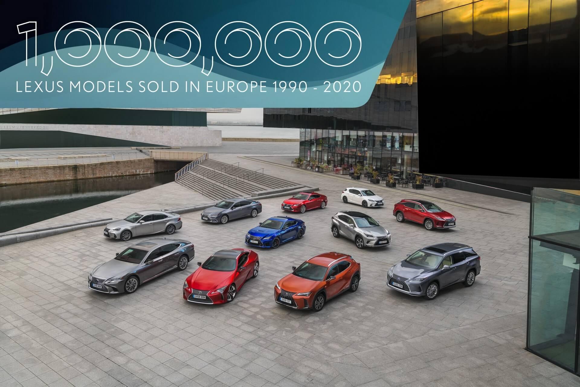 Lexus vendas Europa