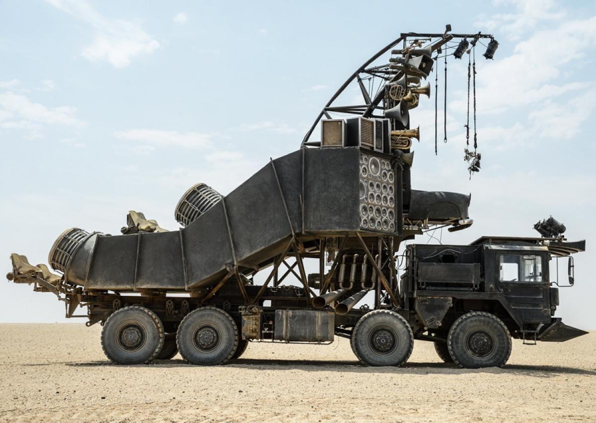 Mad Max Doof Wagon