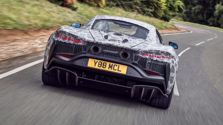 McLaren superdesportivo híbrido