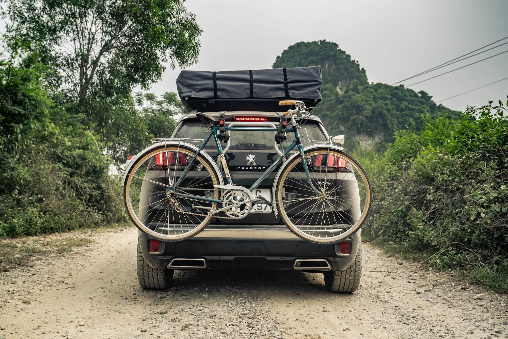 Peugeot 3008 transporte bicicletas