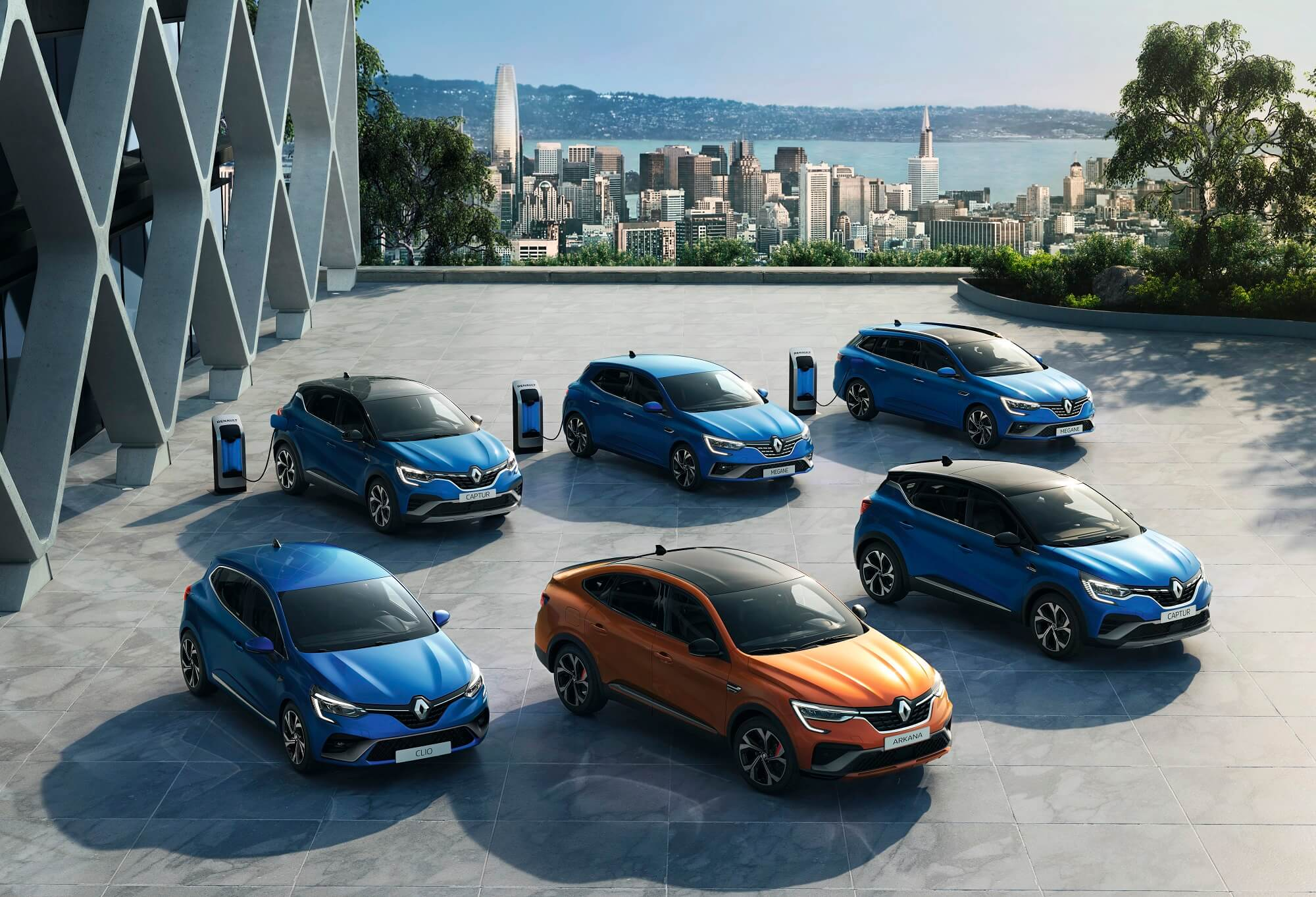 Renault gama híbridos