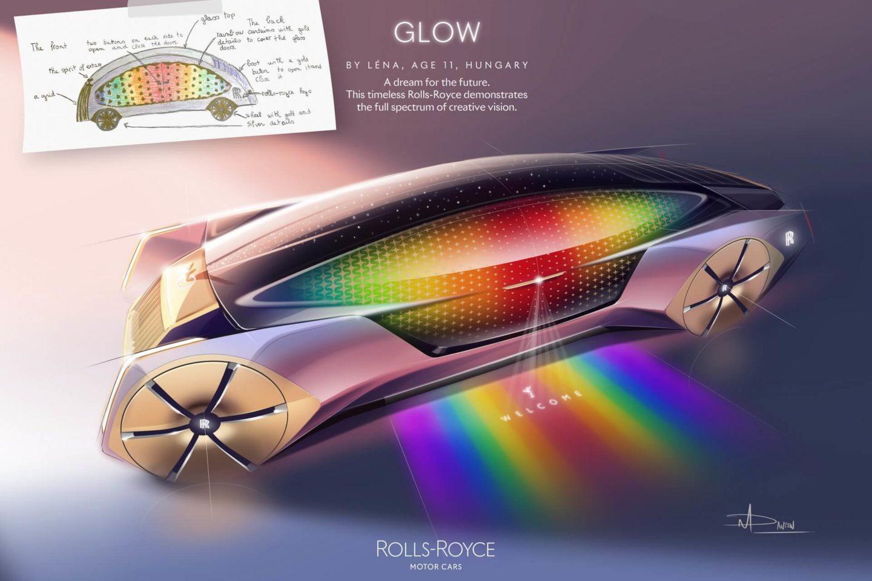 Rolls-Royce concurso desenho