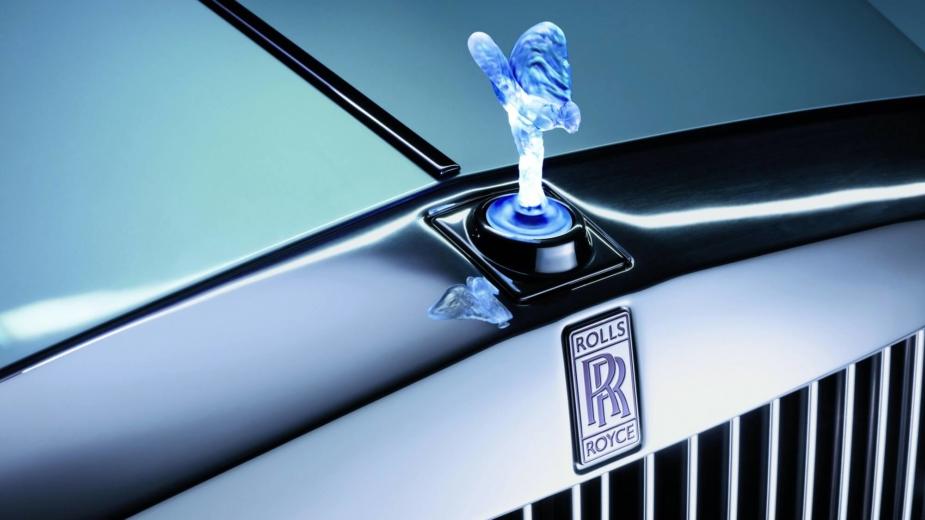 Rolls-Royce logótipo iluminado