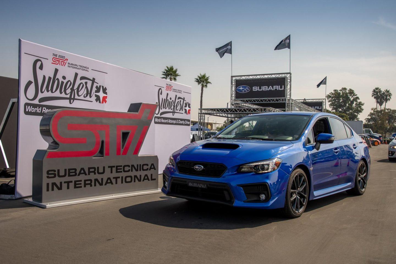Subaru recorde