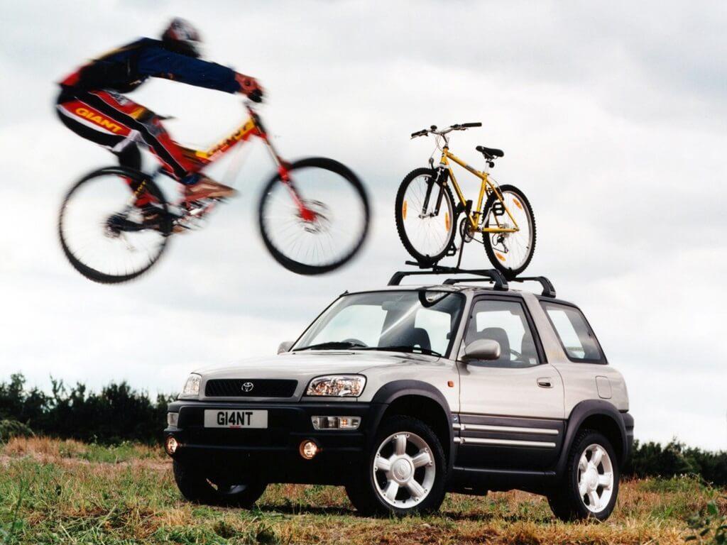 Toyota RAV4 bicicletas