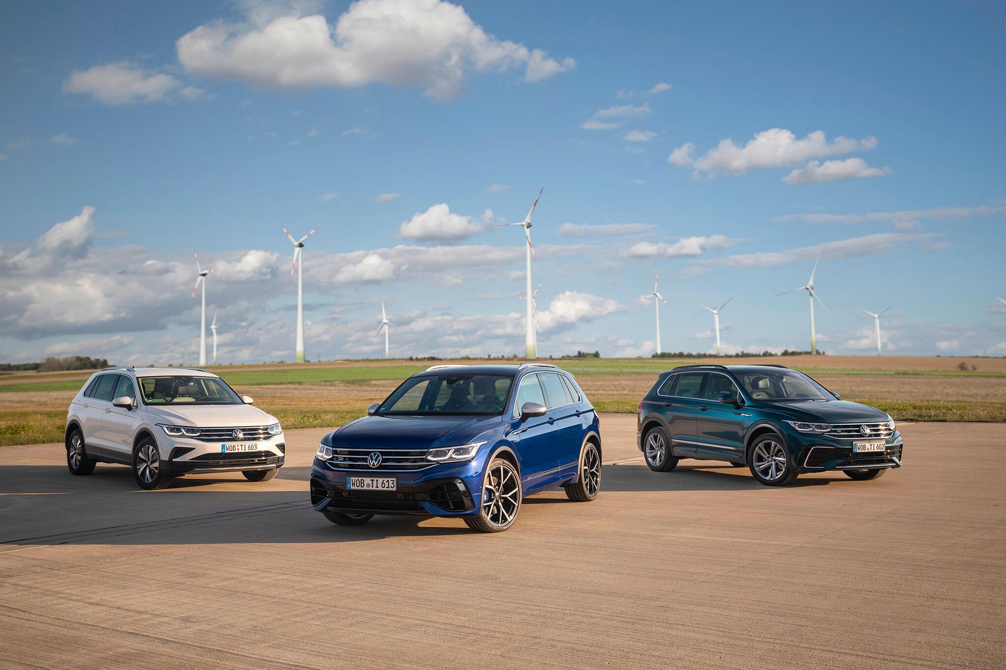 Gama Volkswagen Tiguan renovada
