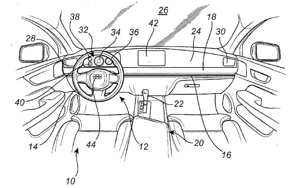 Volvo direção patente