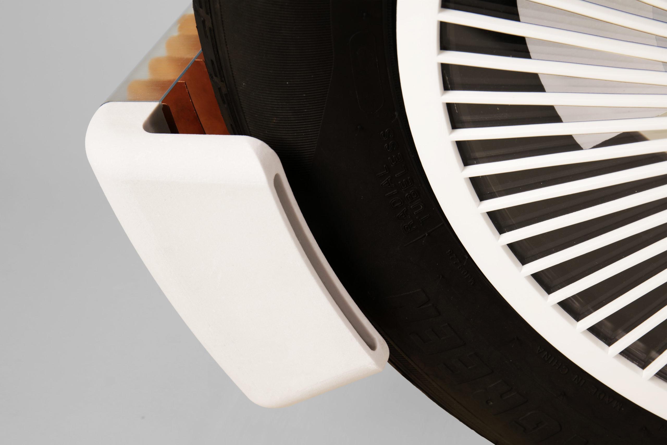 Captura partícula pneus