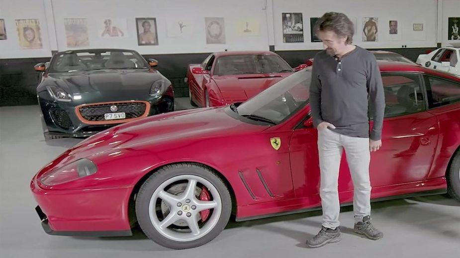 Ferrari 550 Maranello e Richard Hammond