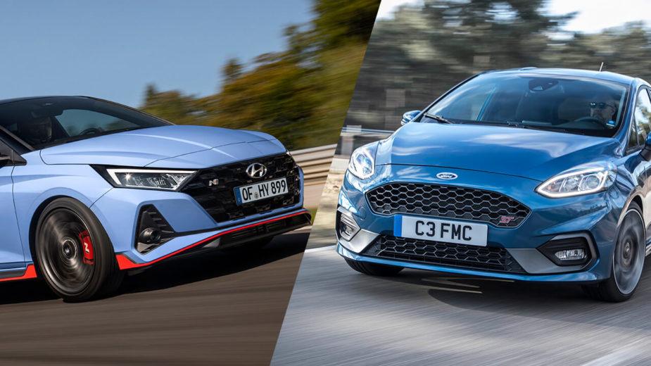 Hyundai i20 N vs Ford Fiesta ST