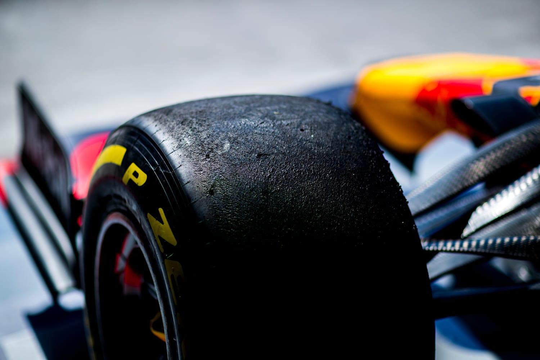 Pneus Fórmula 1