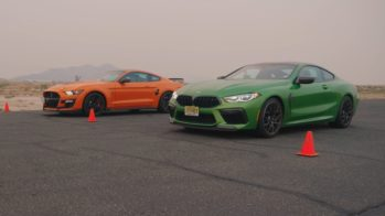 BMW M8 Competition vs Ford Mustang Shelby GT500