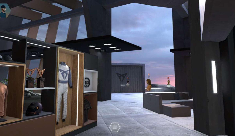 CUPRA espaço virtual