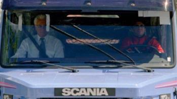 Scania 113H 360, Diego Maradona