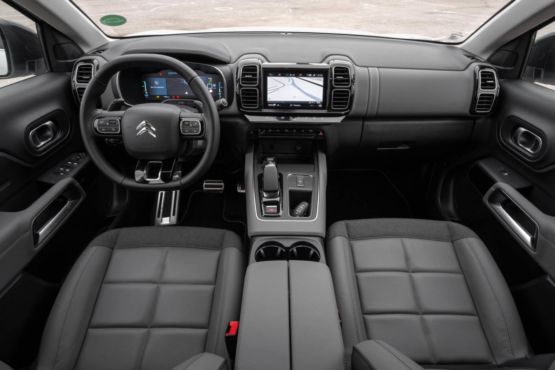 Citroen C5 Aircross Hybrid interior