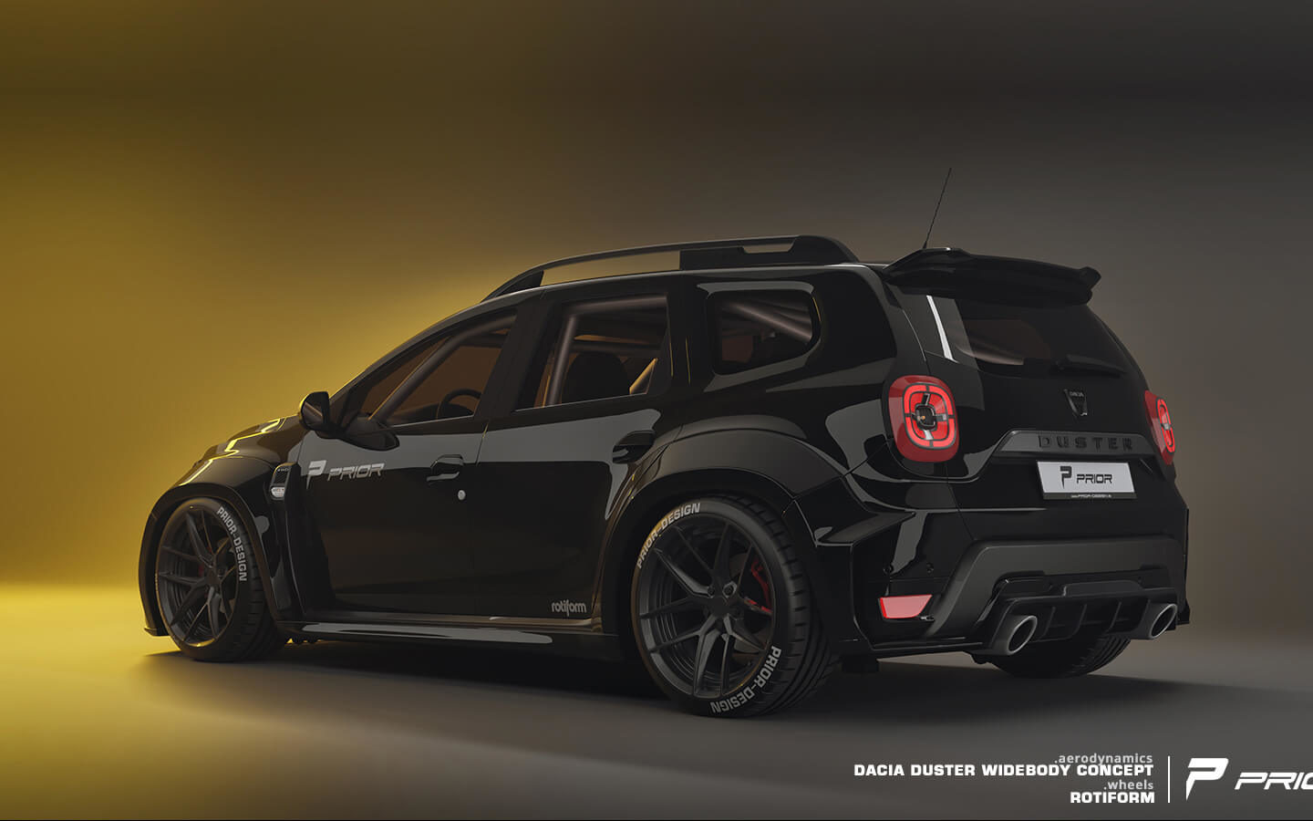 Dacia Duster Widebody Concept