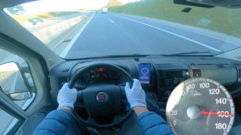 Fiat Ducato 2012 autobahn