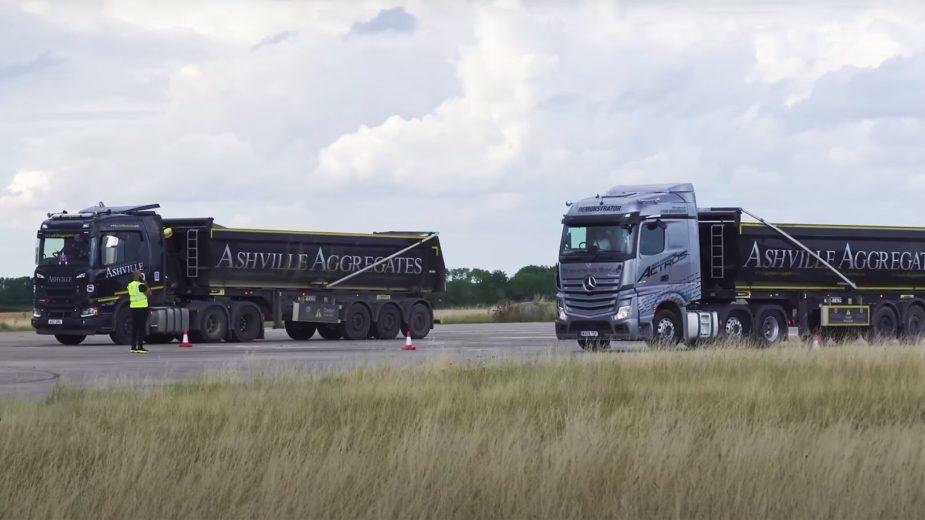 Mercedes-Benz Actros vs Scania R500